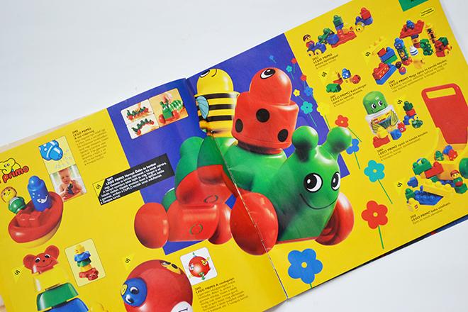 A LEGO PRIMO bébik résére készült. Élénk alapszínek jellemezték./Fotó: Myreille