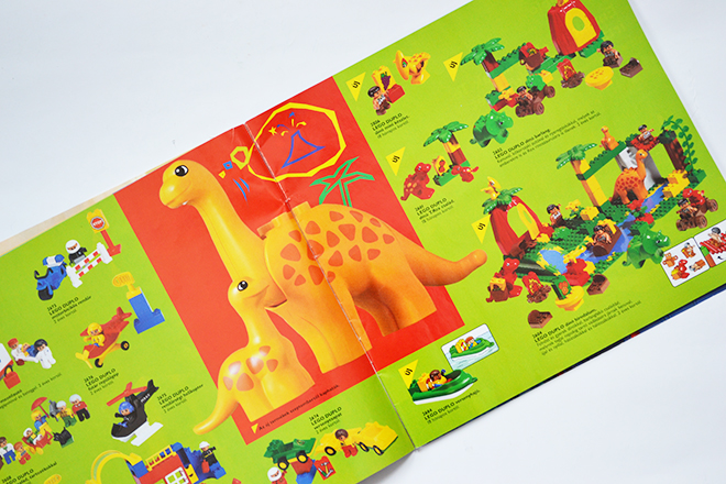 Duplók az 1997-es Lego katalógusban/Fotó: Myreille