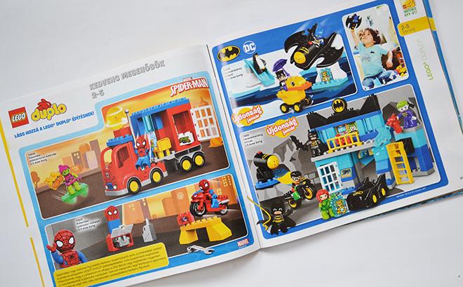 Duplo Szuperhősök a 2017-es Lego katalógusban/Fotó: Myreille