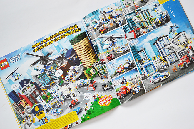 City a 2017-es Lego katalógusban/Fotó: Myreille