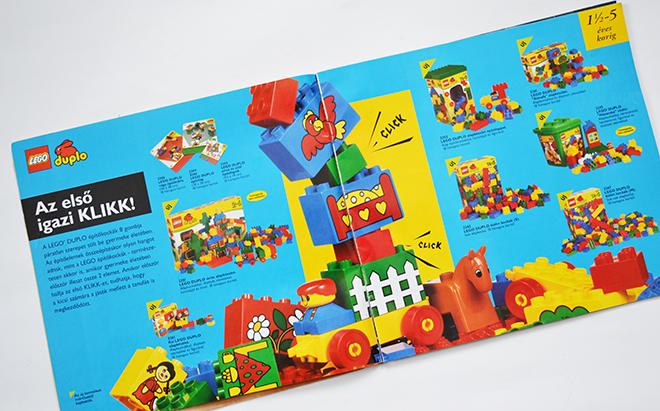 Az első igazi KLIKK! - LEGO Katalógus 1997/Fotó: Myreille