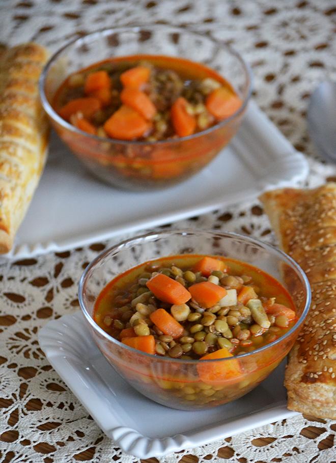 A képen is látszik, hogy nem egy vastag, nehéz leves./Fotó: Myreille