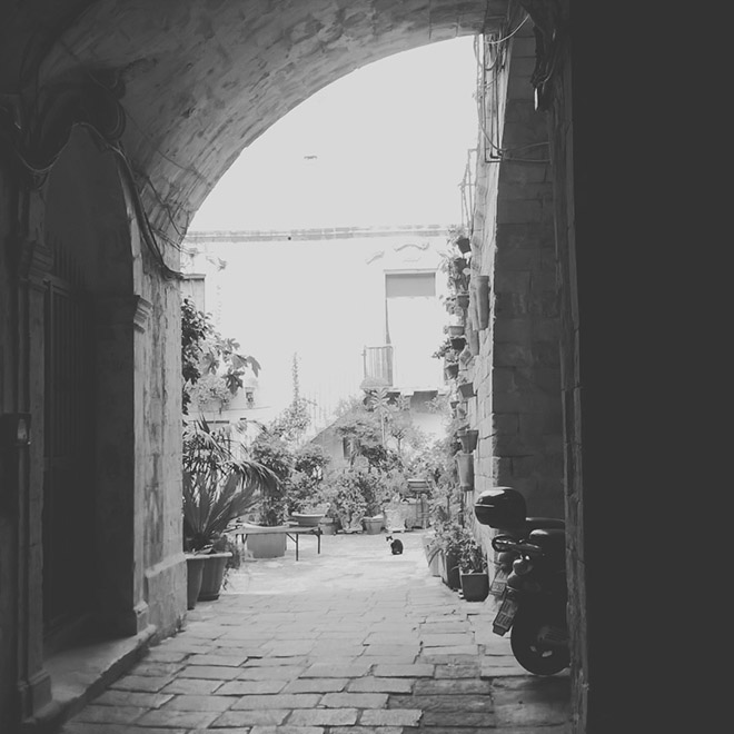 Belső udvar - Siracusa/Fotó: Myreille