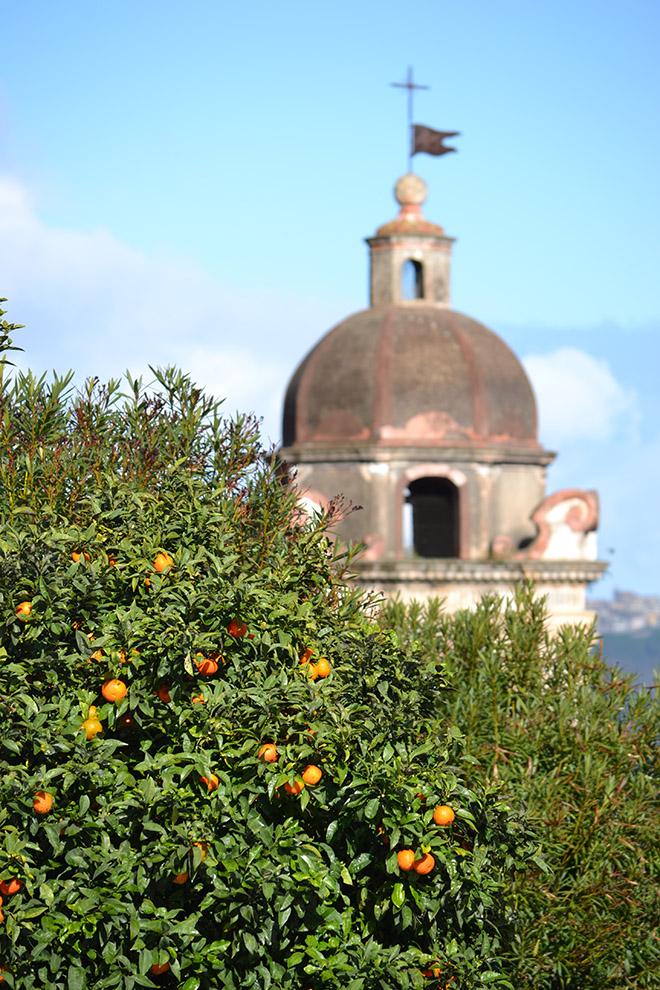 Tipikus kép Taormináról januárban/Fotó: Myreille