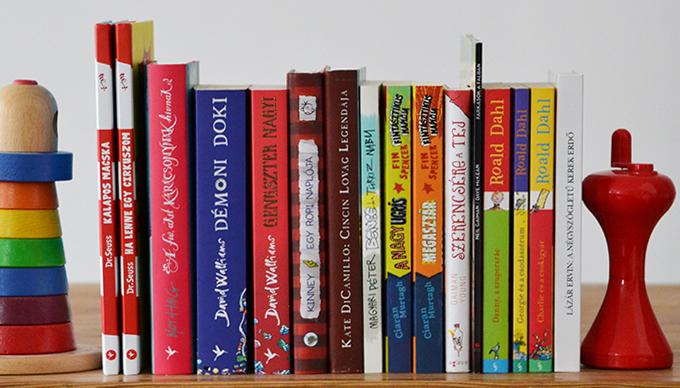 Zsombor könyvei (Fotó: Myreille)