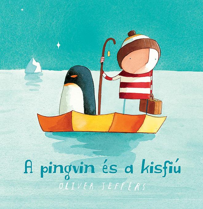 Volt egyszer egy kisfiú, aki egy napon egy pingvint talált az ajtaja előtt....