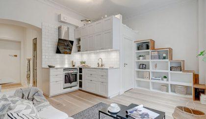 Tágas kislakás: otthon 25 négyzetméteren