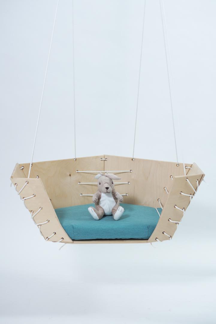 Floatie, függő fotel és hinta/ tervező: Kákóczki Fanni