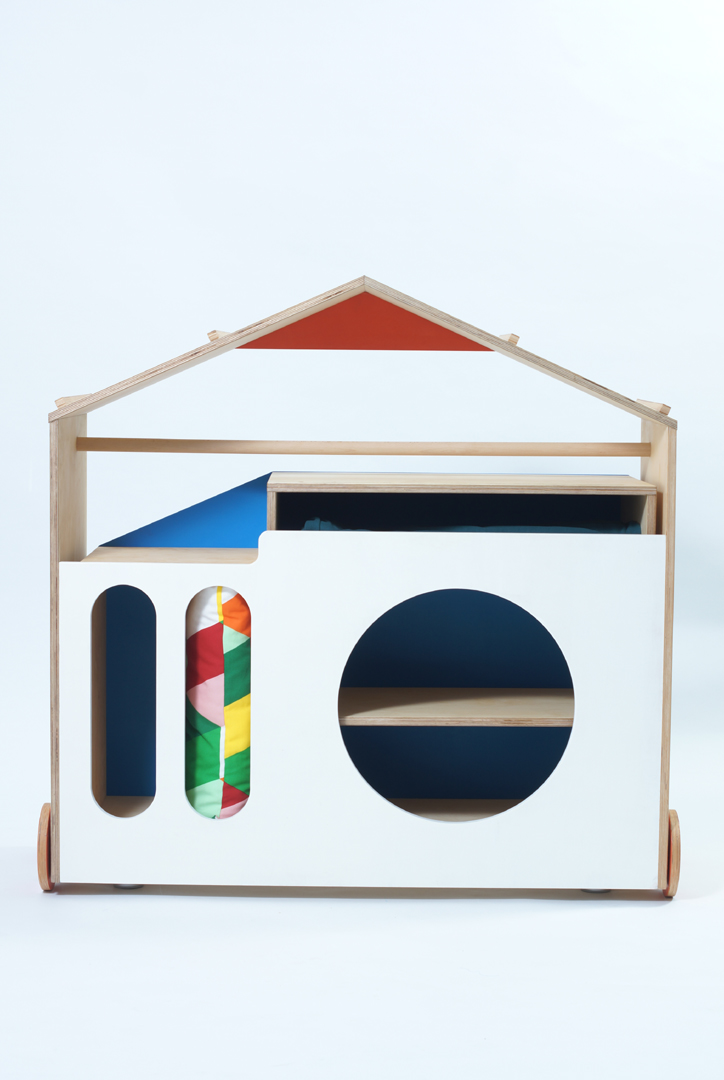 MIHO; My house, my castle gyerekbútor/tervező: Barna Máté Attila