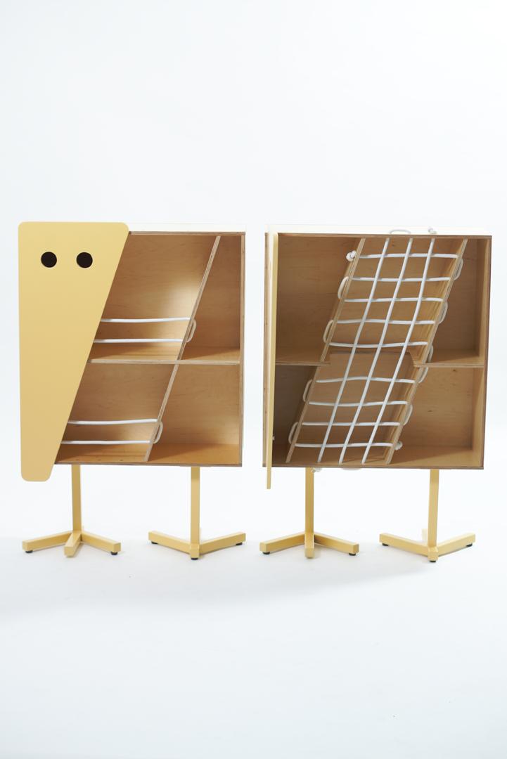 KELEMEN, tároló bútor/tervező: Battai Hajnalka