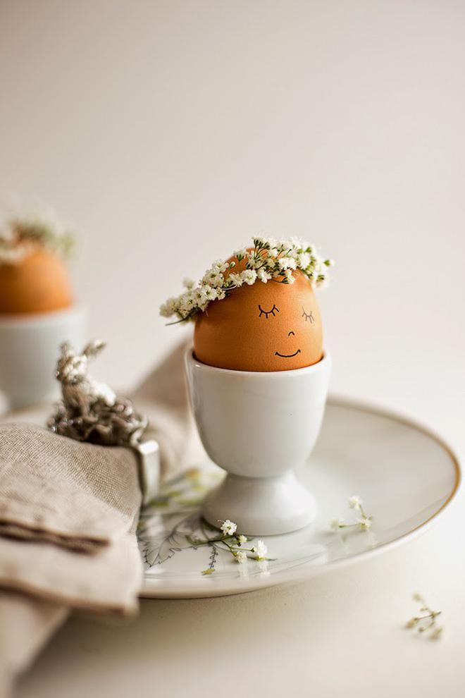 Fotó és ötlet: flaxandtwine.com/ A sok nyúl közé mindenképpen kell egy tavasztündér is!