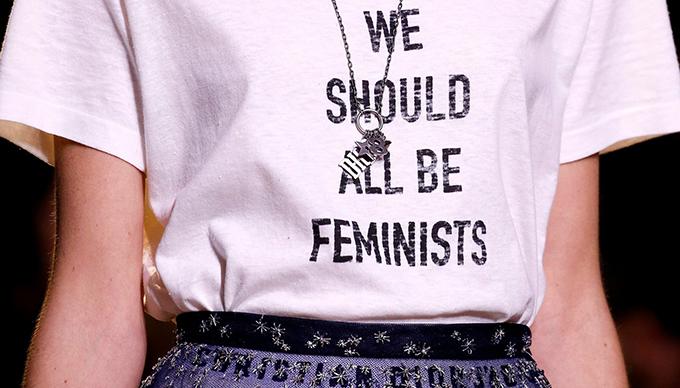 Soha nem volt  a divat ennyire fontos, mint ez a Dior póló!/Fotó: dior.com