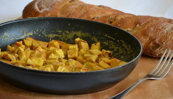 Zseniális curry sárga gévagombából/Fotó: Myreille