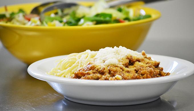 Maggi Bolognai alappal készült étel. Finom volt!/Fotó: Myreille