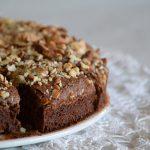 mandulás brownie