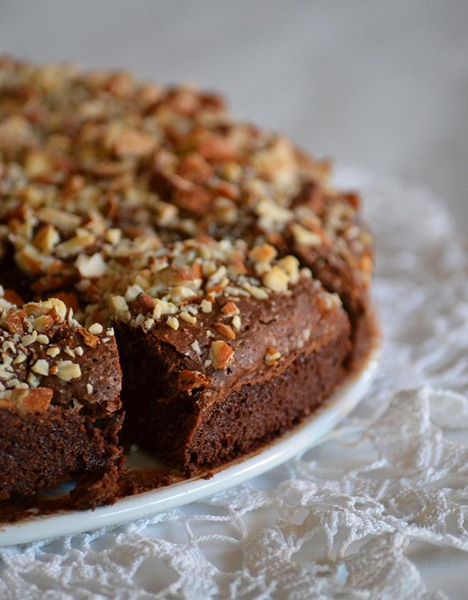 Egyszerűen tökéletes: mandulás brownie/Fotó: Myreille
