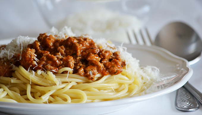 Zseniális bolognai spagetti darált pulykahúsból/Fotó: Myreille