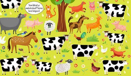 Hová bújt? Keresd meg! – Állatok a farmon