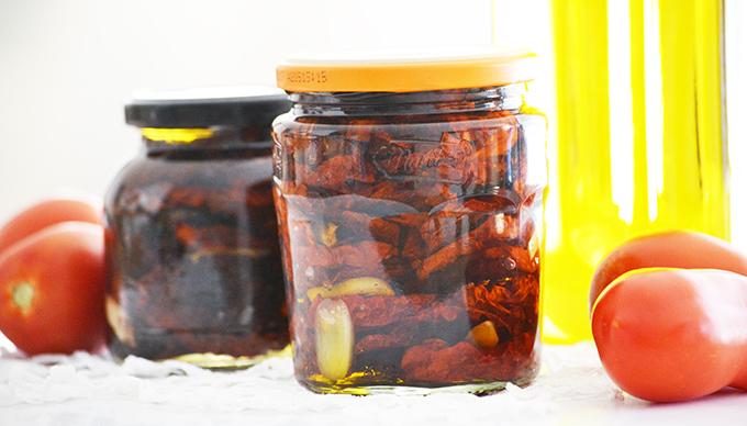 Szárított paradicsom olíva olajban/Fotó: Myreille
