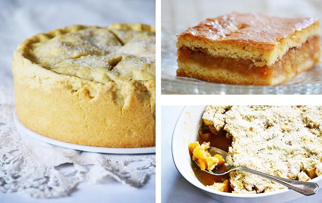 3 zseniális almás süti
