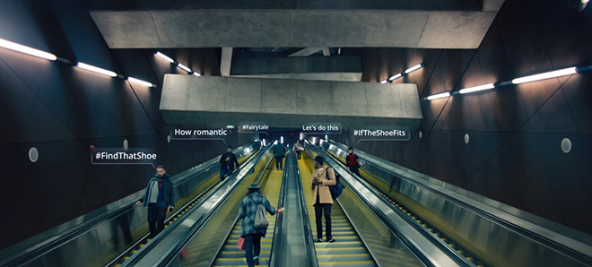 Debenhams 2017-es karácsonyi reklámja
