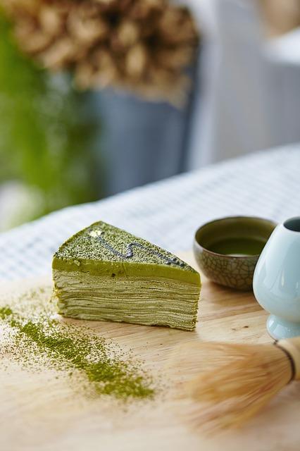 Sütemény matcha-val.../Fotó: Pixabay