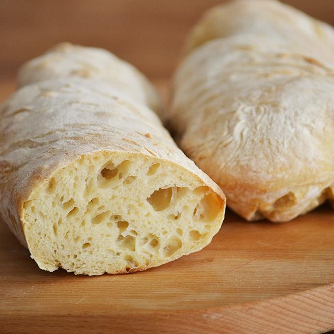 1. verzió a dagasztás nélküli kenyérre: ciabatta/Fotó: Myreille