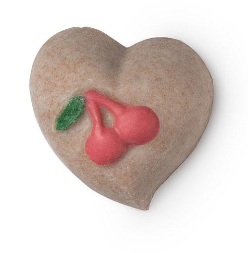 Lush Cherryish szilárd testradír