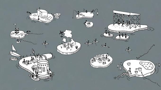 CPH-Ø1, CPH-Ø2, CPH-Ø3 és a többi sziget/Fotó: Fokstrot