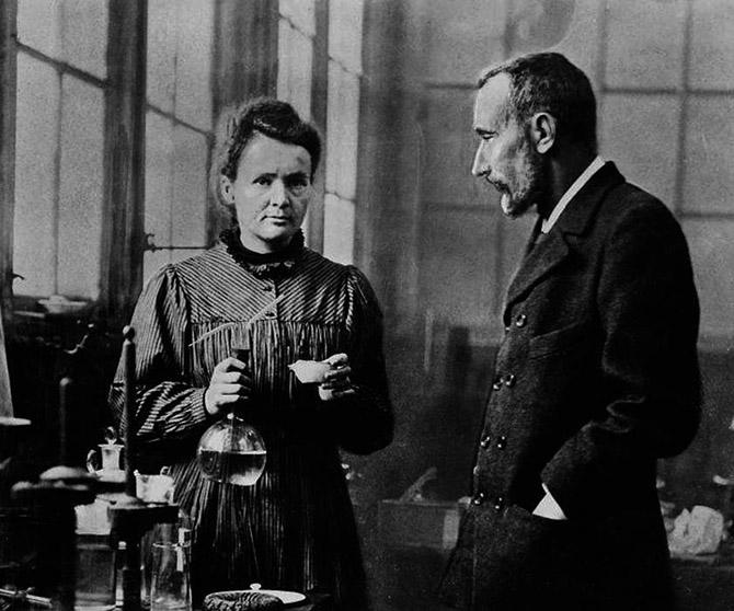 Marie Curie és Pierre Curie