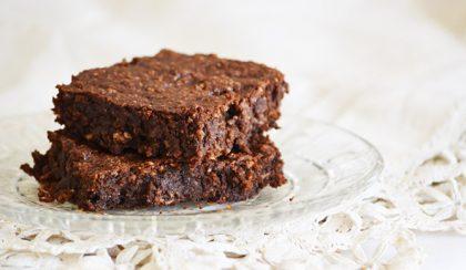 Brownie zabpehellyel és 60%-os étcsokoládéval