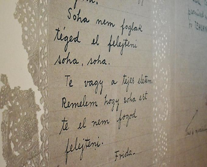 Frida Kahlo magyarul írt levele Nickolas Muray-nak