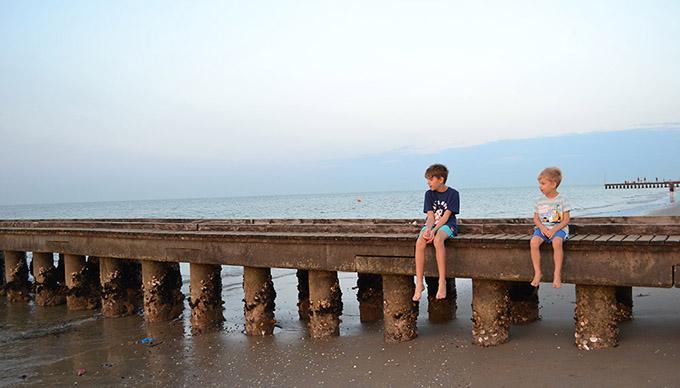 Családi nyaralás: Lido di Jeslolo