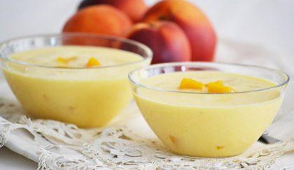 Hűsítő nyári leves: joghurtos nektarin (őszibarack) leves