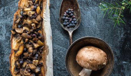 Vajas-borókabogyós gomba A kert konyhájából