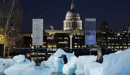 Ameddig el nem tűnik – Olvadó jéghegyek Londonban