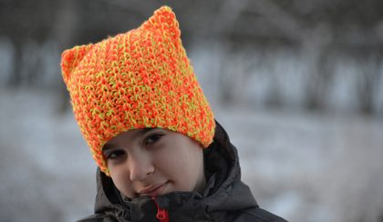 "Horgolt ""macska"" sapka (Simple Free Crochet Cat Beanie Pattern) Vol2."