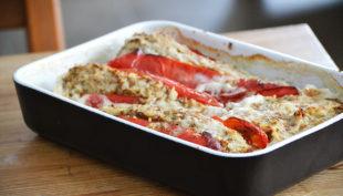 Indiai fűszerezésű, sütőben sült töltött paprika/Fotó: Myreille