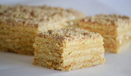 """Örmény mézes sütemény, avagy """"Marlenka"""" házilag"""