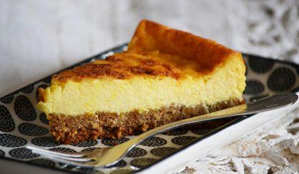 Tovább fokozni a legjobbat: Sáfrányos cheesecake