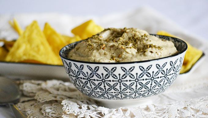 A legjobb padlizsánkrém, amit valaha készítettem - Padlizsánkrém za'atarral és tahinivel/Fotó: Myreille
