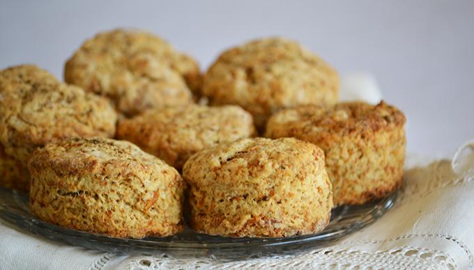 Káposztás scone: jobb, mint a káposztás pogácsa/Fotó: Myreille