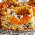 Sárgabarackos mandulás pite, Apricot cake