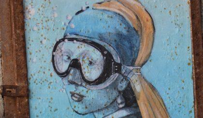 Mona Lisa, Vénusz és A lány gyöngy fülbevalóval tudják, hogyan kell úszni…