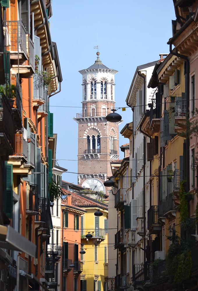 Lamberti-torony, Verona/Fotó: Myreille, 2019
