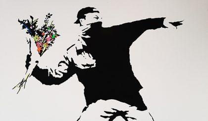 """Banksy-t csak erősíti egy """"illegitim"""" Banksy kiállítás"""