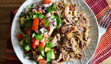 A hús, amitől felejthetetlen és ellenállhatatlan a carnitas taco