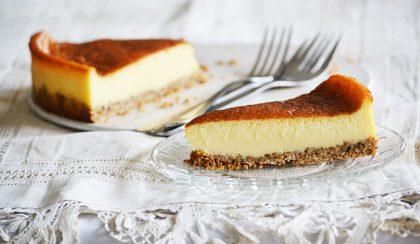 Lehet tökéletes a cheesecake (sajttorta) zabkeksz nélkül is!