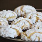 Falatnyi napsütés: Citromos-citromfüves crackle cookies