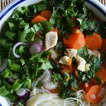 Pho leves csirkével, amikor a húsleves még egy fokkal finomabb